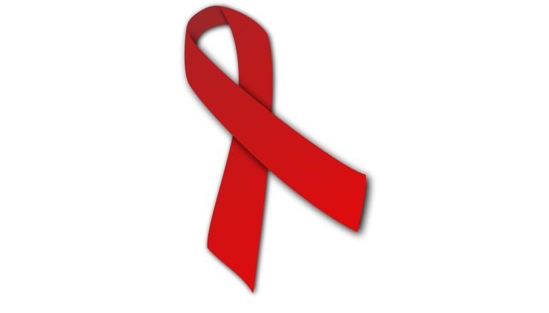 Ruban rouge de lutte contre le SIDA
